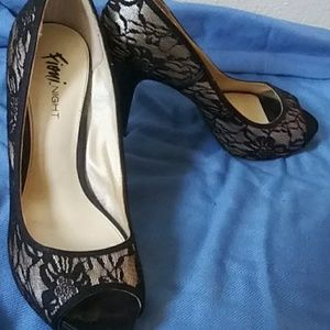 Fiona Night Peeptoe heel